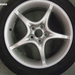 Toyota Celica Wheel Refurbishment